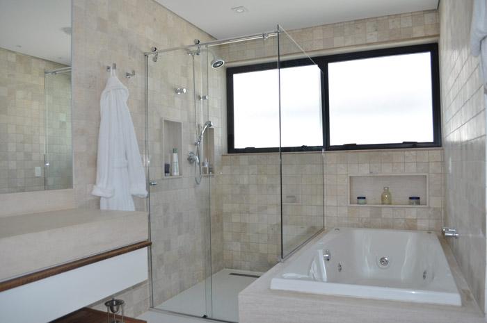 Acabamento de Banheiro  Pisos e Revestimento  Construdeia -> Acabamento Para Banheiro Com Banheira