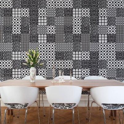 Azulejo moderno piso e revestimento construdeia for Azulejos modernos