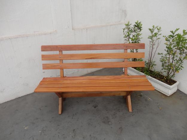 banco de concreto para jardim em jundiai : banco de concreto para jardim em jundiai:Banco para Jardim – Madeira e Concreto