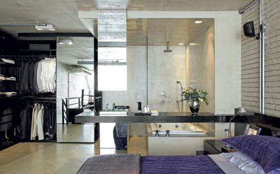 Banheiro Integrado Ao Quarto Pequeno ~ Banheiro Com Closet Integrado 15 Pictures to pin on Pinterest