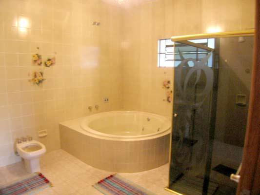 Banheiro com Hidro  Fotos e Imagens  Construdeia -> Banheiro Pequeno Com Hidro