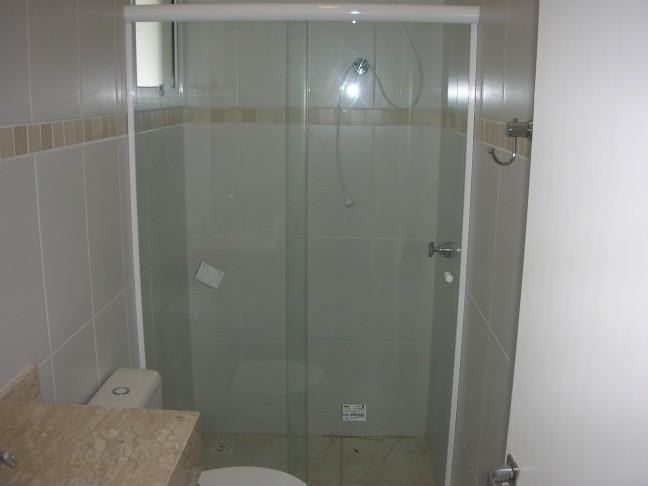 Box para Banheiro de Vidro  Blindex e Modelos  Construdeia -> Box Para Banheiro Rio Pequeno Sp