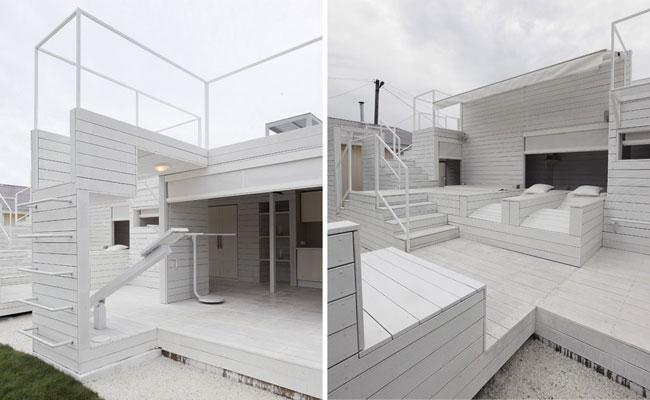 Casa pintada de branco pinturas e cores construdeia for Casas pintadas interior