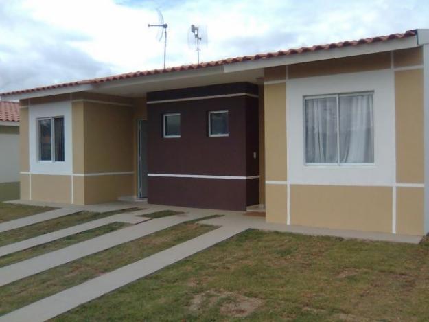 Casas com pinturas modernas cores e tintas construdeia for Pintura casa moderna