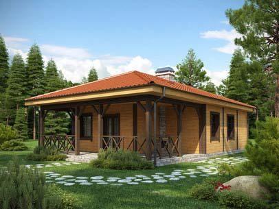 Casas de campo r sticas plantas e terreno for Diseno de piscinas para casas de campo