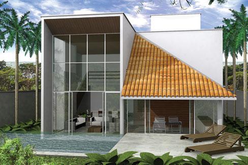 Casas e projetos - Casas pequenas y modernas ...