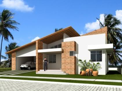 Casas modernas t rreas for Casa moderna 1 11 2