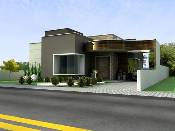 Casas Modernas T Rreas