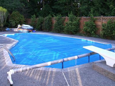 Cobertura para piscina for Coberturas para piscinas