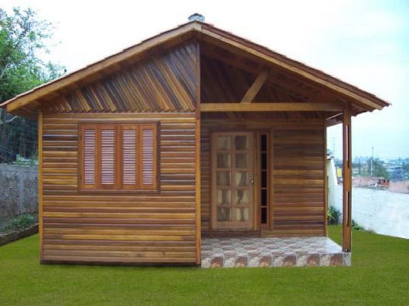 Como construir uma casa de madeira for Tipos de casas para construir