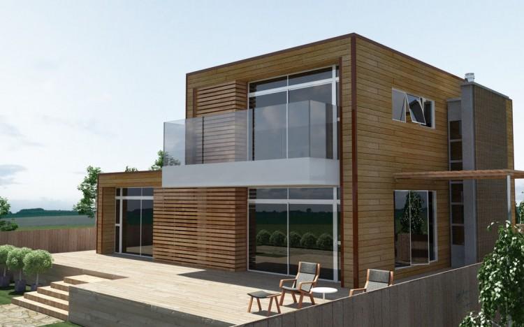 Constru o em madeira - Archi moderni casa ...