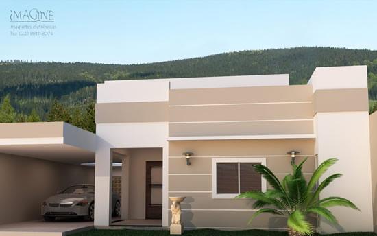Cores para casas modernas tintas e texturas for Fotos de piscinas modernas en puerto rico