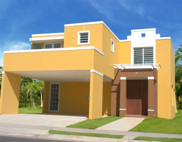 Cores para parede externa - Pintura casa moderna ...