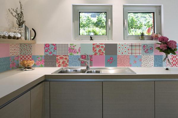 Cozinha com Azulejo Retro  Revestimento e Antigo  Construdeia # Azulejo De Cozinha Preto E Branco