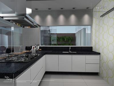 Cozinhas em u modernas