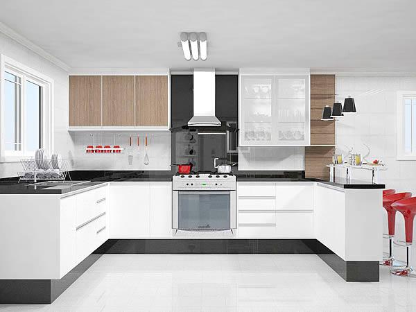 Pics Photos - Cozinha Simples Moveis Sobre Medida Uma