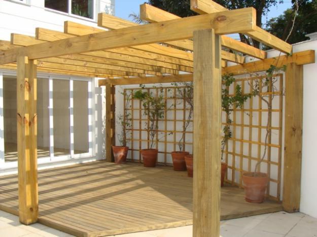 jardim deck de madeira:Deck De Madeira Para Jardim 150×150 Pictures to pin on Pinterest