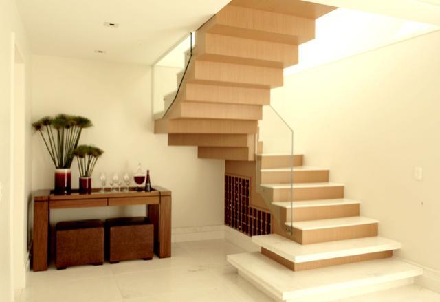 escada para sobrado modelos e casas construdeia