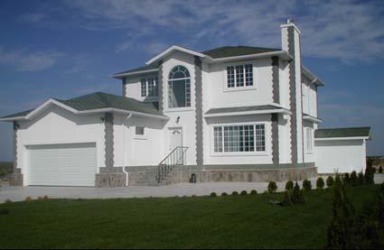 Fachada de casa americana design e modelos for Casas americanas fachadas