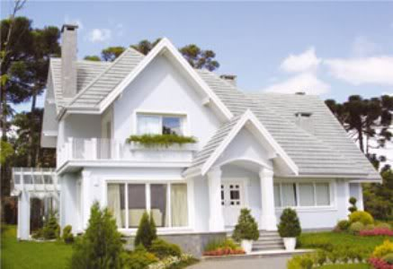 Fachada de casa americana for Modelos de casas americanas
