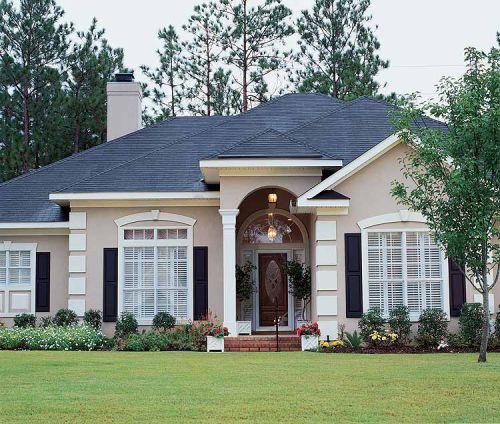 Fachada de casa americana for Casas estilo americano interiores