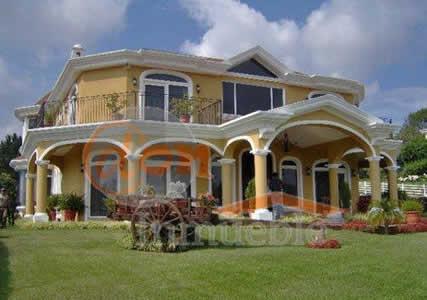 Fachada de casa de campo simples e luxo construdeia - Fachadas de casas de campo ...