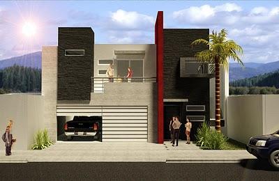 Index of wp content gallery fachada de casas minimalista for Casa villa decoracion exterior fachada