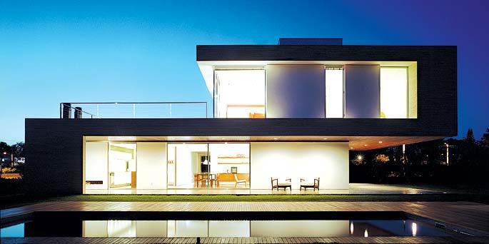 Fachada de casas minimalista for Fachadas de casas modernas minimalistas