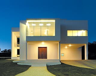 fachada de casa minimalista 2jpg - Fotos De Fachadas De Casas