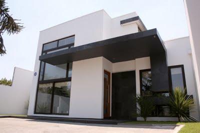 Fachada de casas minimalista for Casa minimalista 2 plantas