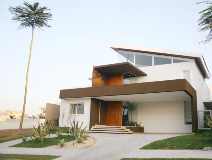 fachadas de casas bonitas com telhados On fachadas de casas modernas e interiores