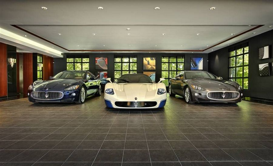 Garagem: Automóveis  Garagem-de-luxo-1
