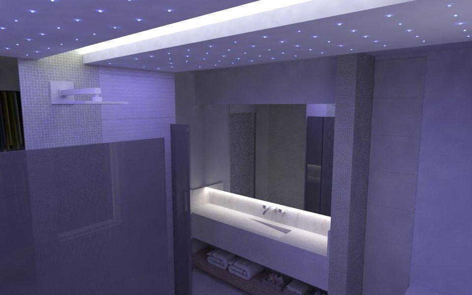 Gesso para Banheiro  Acabamento e Teto  Construdeia -> Gesso Para Pia De Banheiro