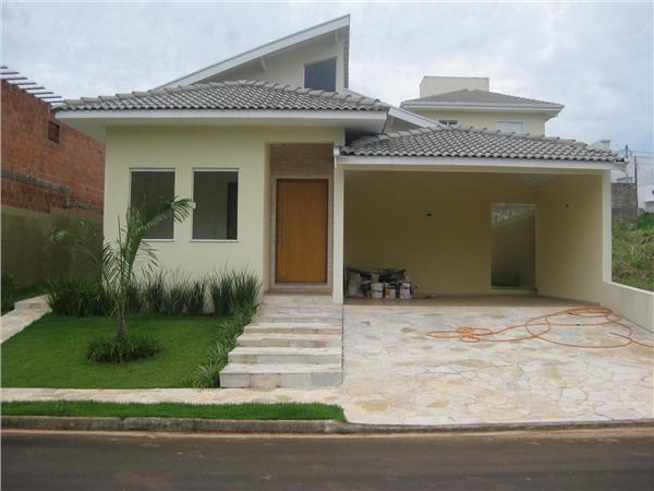 Id ias para fachada de casas plantas e projetos for Modelos de fachadas para casas