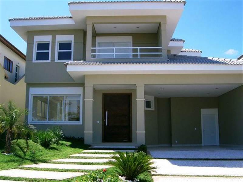 Imagens de casas bonitas fachadas e modernas for Modelos de casas pequenas y bonitas