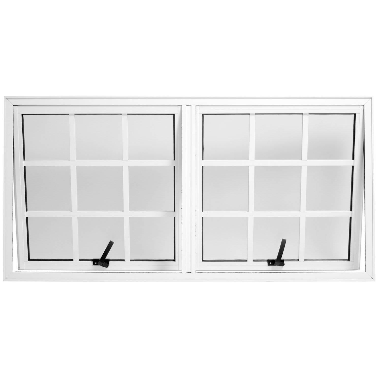 Janela de Alumínio Branco Modelos e Preços Construdeia #2F2F2F 1500 1500