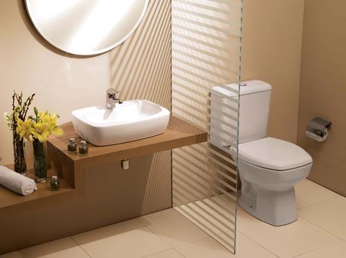 Louças para Banheiro  Vasos e Lavatórios  Construdeia -> Loucas Banheiro Pequeno