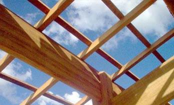 Madeiramento telhado