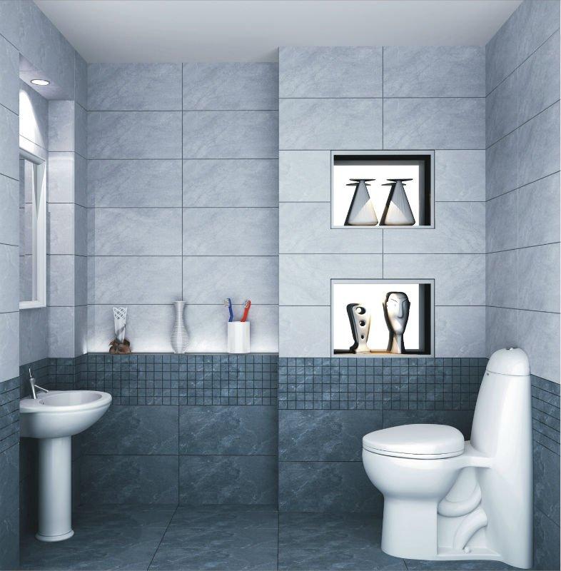 Modelo de azulejo para banheiro pisos e pastilhas for Azulejos para cuartos de bano modernos