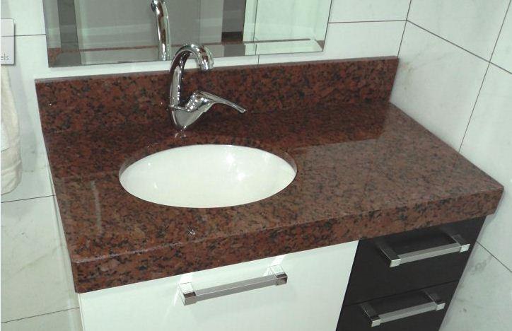 Modelo de Pia para Banheiro  Mármore e Granito  Construdeia -> Odelos De Pia De Banheiro