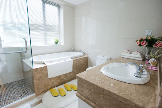 Modelos de Banheiro com Banheira  Modernos e Construção  Construdeia -> Banheiro Com Banheira