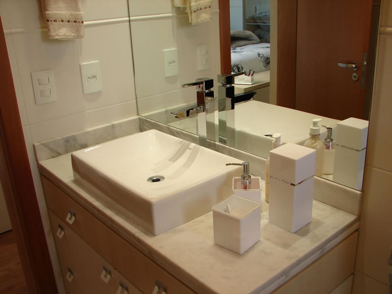 Modelos de Cuba para Banheiro  Deca e Eternit  Construdeia -> Cuba Para Banheiro Eternit