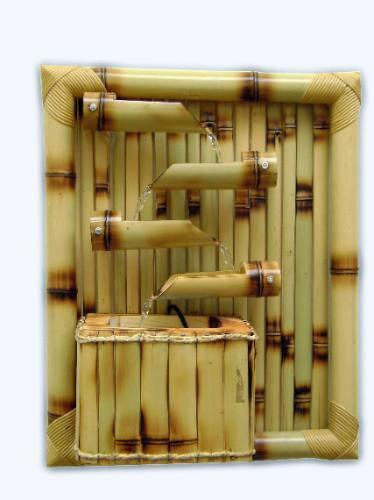 artesanato em bambu para jardim:Parede de Bambu – Decoração e Artesanato