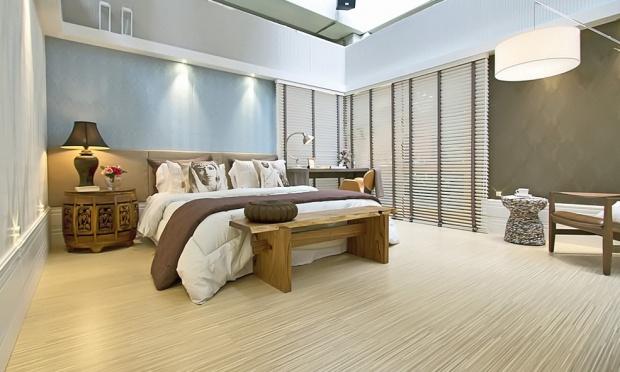 Pisos de casas modernas porcelanato e madeira construdeia for Piso de casa