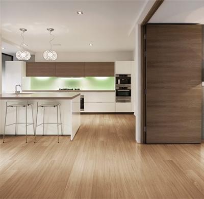 Pisos de cer mica madeira porcelanato e laminado construdeia - Fotos de pisos decorados ...