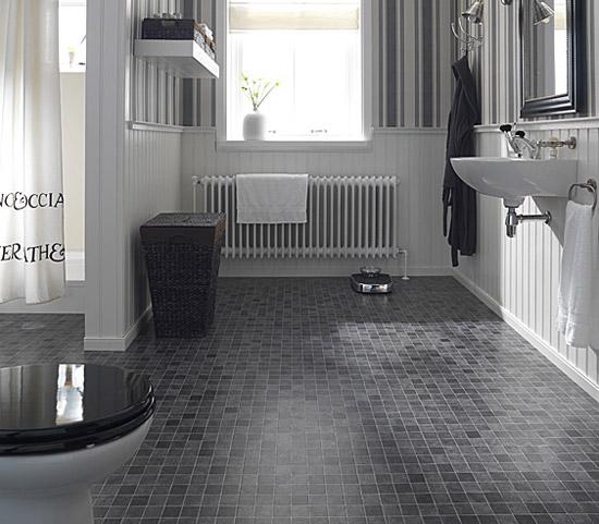 Modern Bathroom Vinyl Flooring: Pisos Para Banheiro Simples