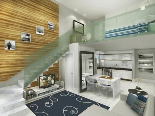 Planta de loft duplex projeto e constru o - Loft pequeno ...