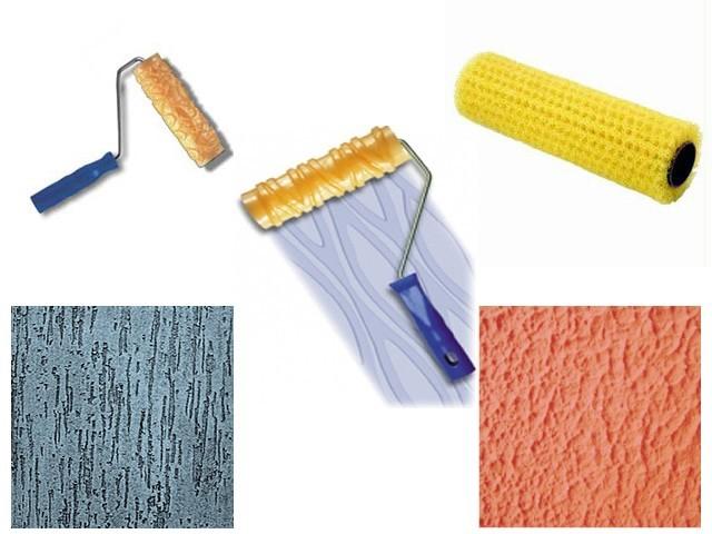 modelos de texturas, textura de paredes, rolo para textura