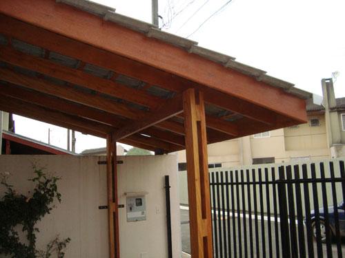 Telhado Para Garagem Construdeia Com