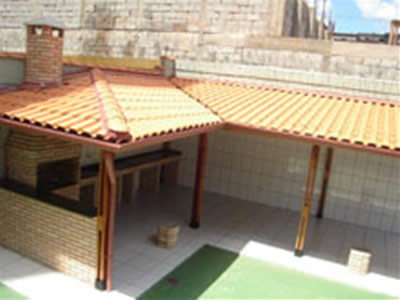 Queda de telhado